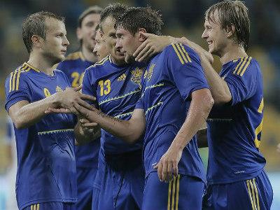 Украина впервые сыграет с Сан-Марино