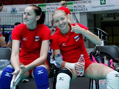 Ксения Бондарь и Екатерина Кабешова