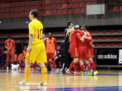 Россия уверенно пробилась на футзальный Евро-2014