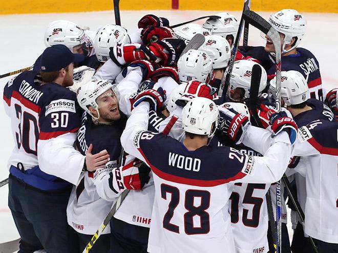 Чехия – США – 1:2. 19 мая 2016. Обзор матча ЧМ-2016 по хоккею, фото, видео