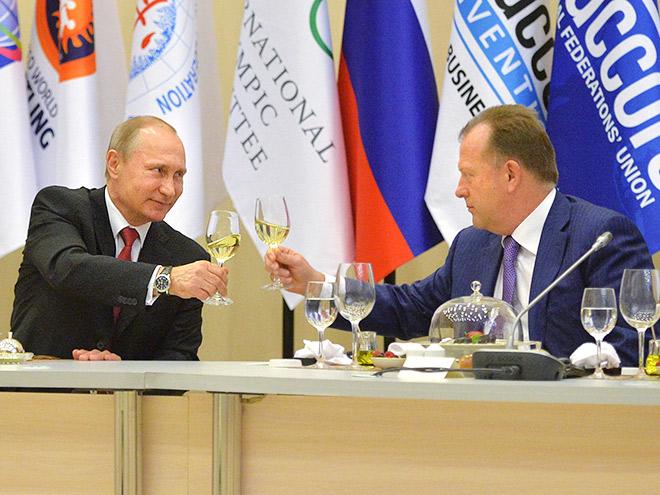 Владимир Путин и Мариус Визер
