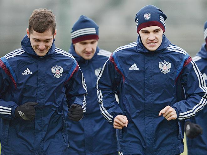 Алексей Миранчук и Роман Зобнин