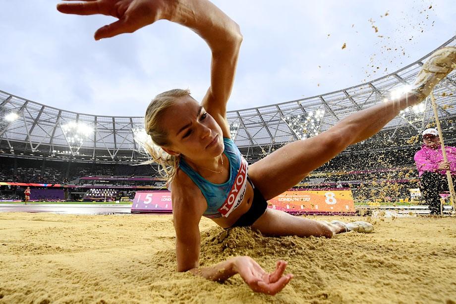 Россиянка Дарья Клишина взяла серебро наЧМ полегкой атлетике встолице Англии