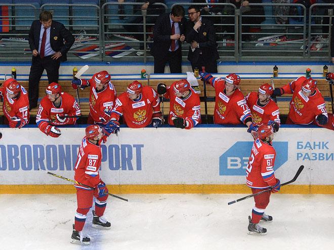 Состав сборной России по хоккею на ЧМ-2015 в Чехии