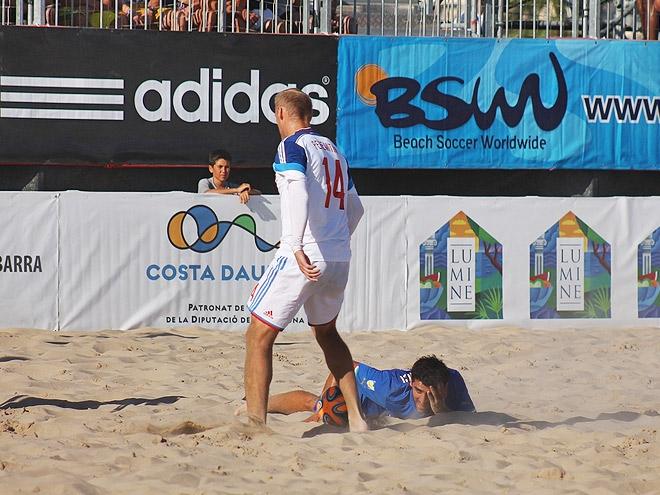 Пляжный футбол. Трансляция матч Россия – Италия