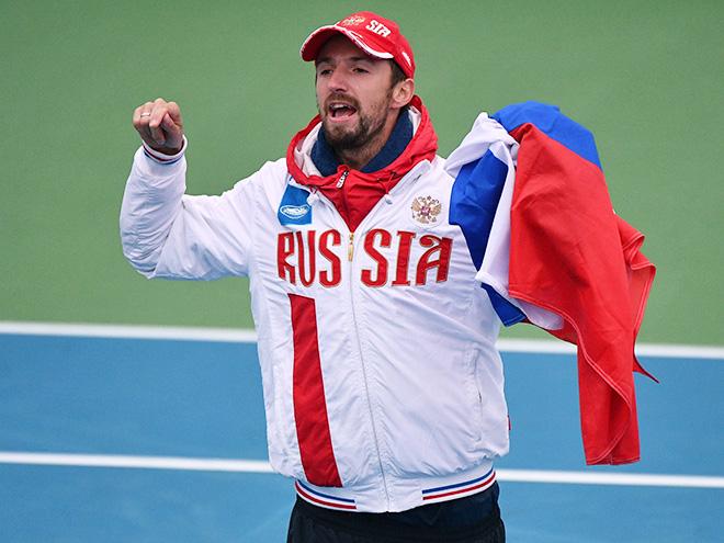 Сборная России вернулась в Мировую группу Кубка Дэвиса