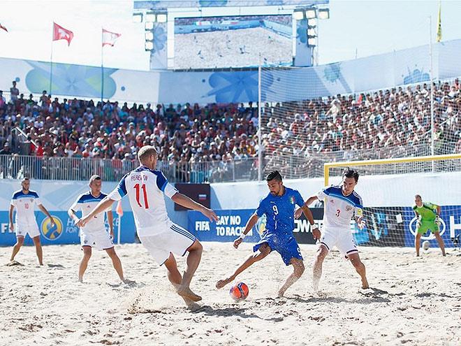 Пляжный футбол Россия взяла бронзу чемпионата мира