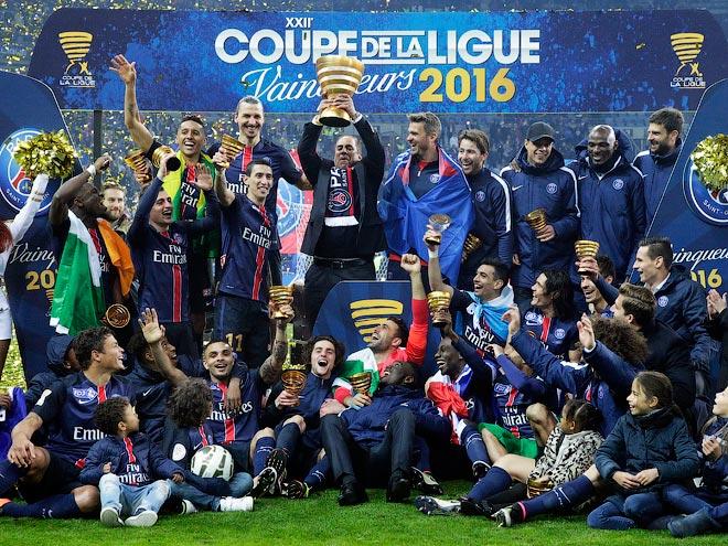 «ПСЖ» — обладатель Кубка французской лиги
