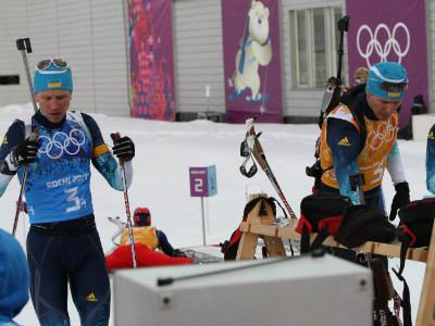 Мужская сборная Украины девятая в эстафете