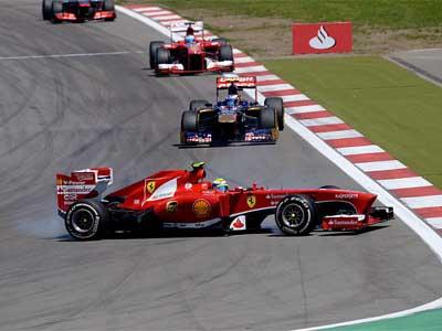 Комментарии участников ГП Германии Формулы-1
