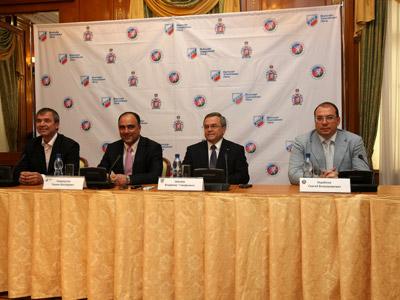 В Сочи состоялась пресс-конференция руководства ВХЛ и ХК «Кубань»