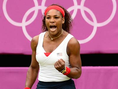 Лондон-2012. Теннис. Серена Уильямс