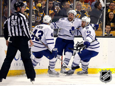 """Бостон"" — ""Торонто"" — 2:4. Матч № 2"