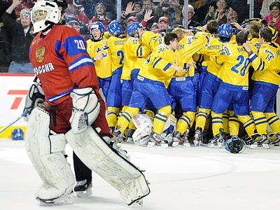 Сборная России готовится к матчу со шведами