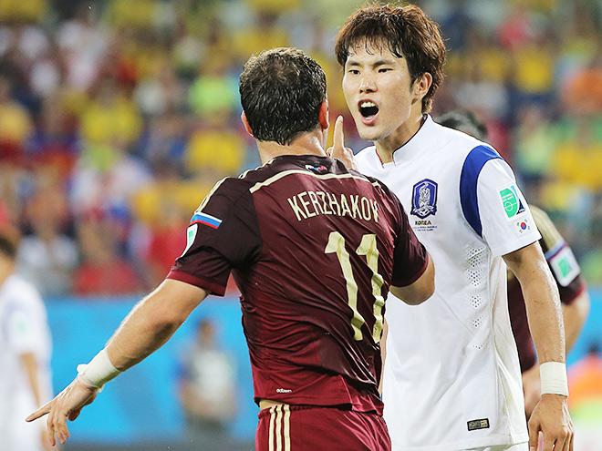 Сборная России сыграла вничью с Южной Кореей