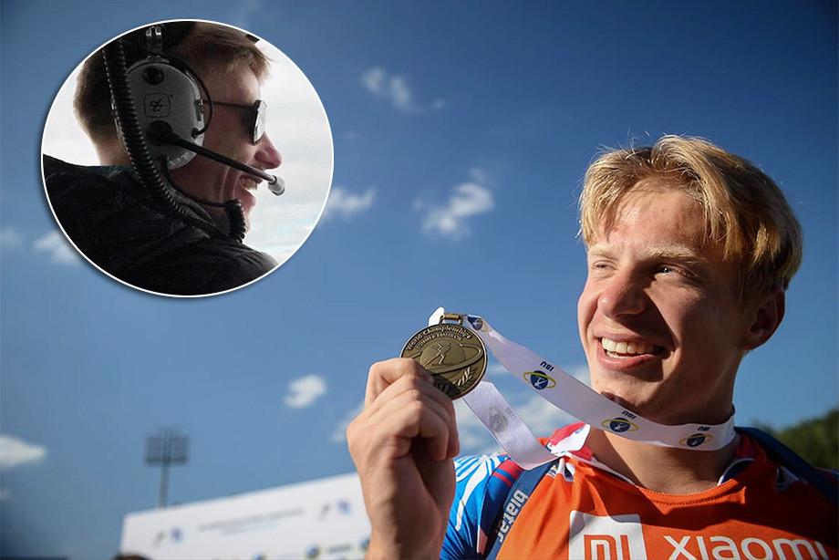 Биатлонист Игорь Малиновский планирует уйти в авиацию – после биатлона