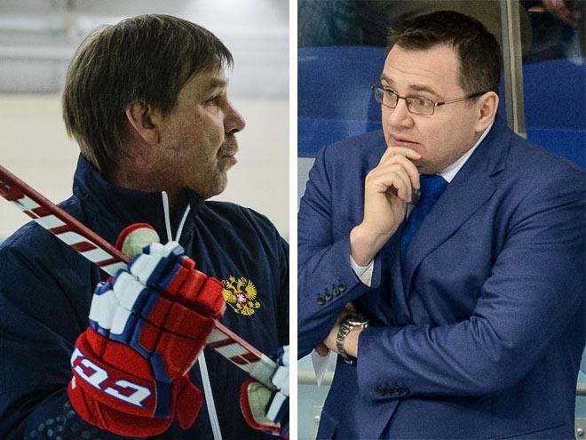 Олег Знарок и Андрей Назаров