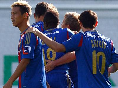 ЦСКА одержал четыре победы подряд в Премьер-Лиге и Лиге Европы