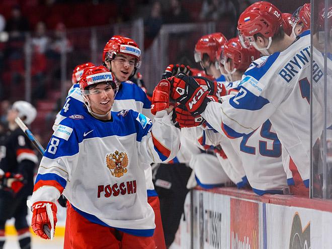 МЧМ. Сборная России выиграла у США – 3:2