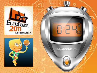 """""""24 секунды"""" на Евробаскете. День 2-й"""