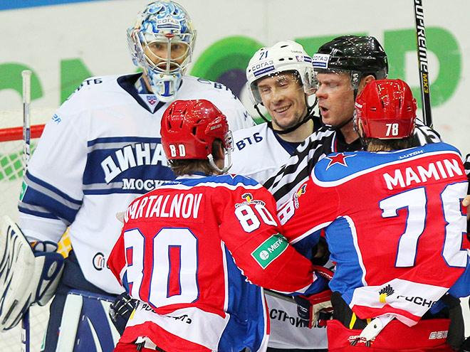 «Динамо» выиграло у ЦСКА – 2:0