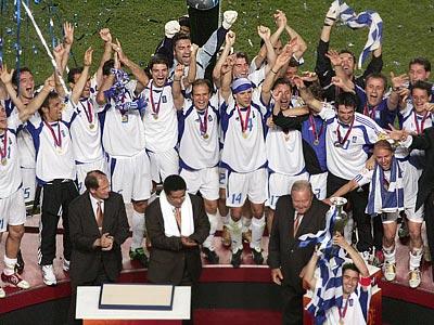 Играя строго от обороны, победителем Евро-2004 стала сборная Греции