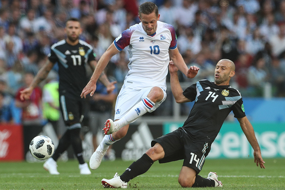 Сборная Аргентины сыграла вничью скомандой Исландии