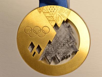 Золотая медаль Сочи-2014