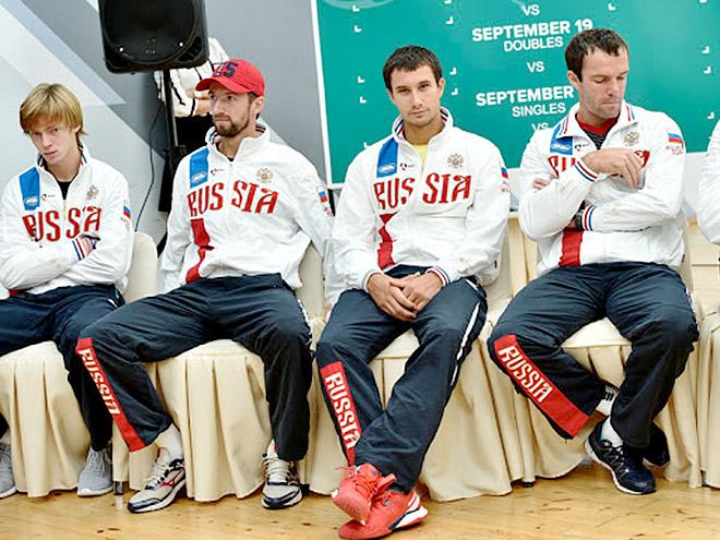 Сборная России уступила Италии в Кубке Дэвиса