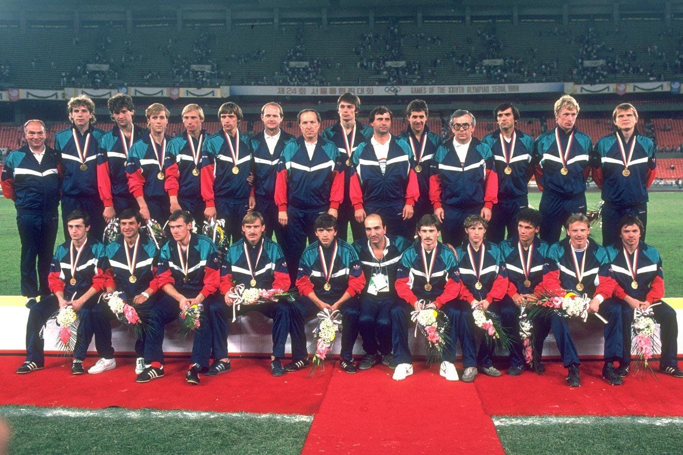 Последнее золото сборной СССР на Олимпиаде