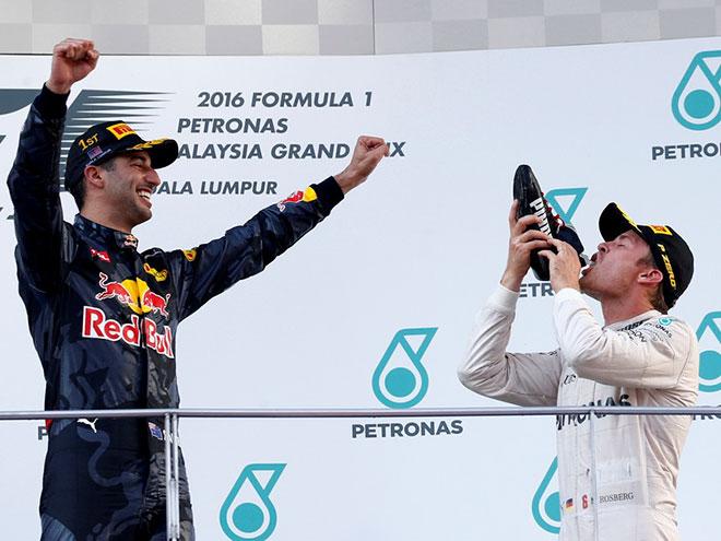 Оценки пилотам за Гран-при Малайзии Формулы-1