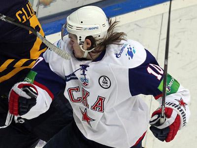 Нападающий СКА Виктор Тихонов – о матче в Мытищах