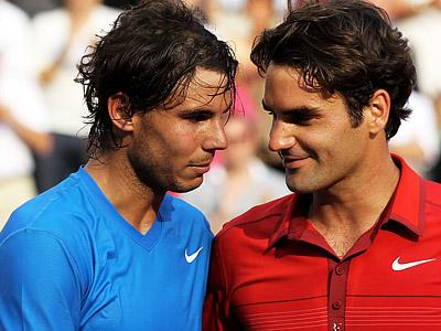 Битва титанов. Федерер vs Надаль