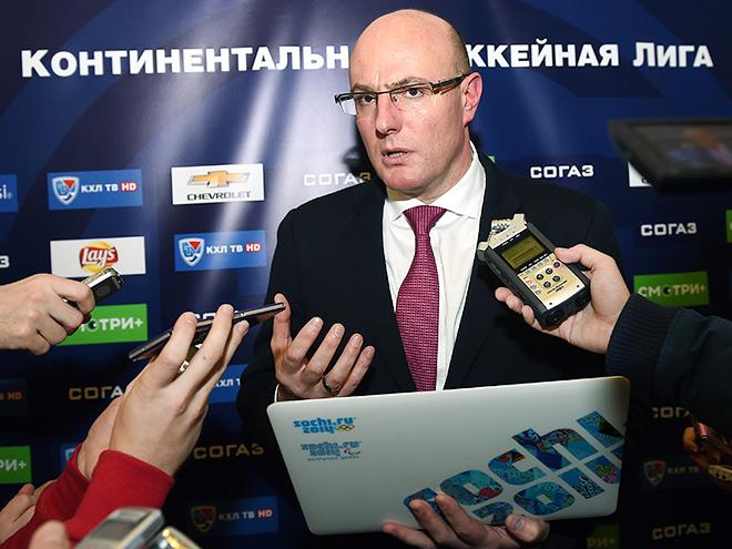 Чернышенко – о заседании правления КХЛ