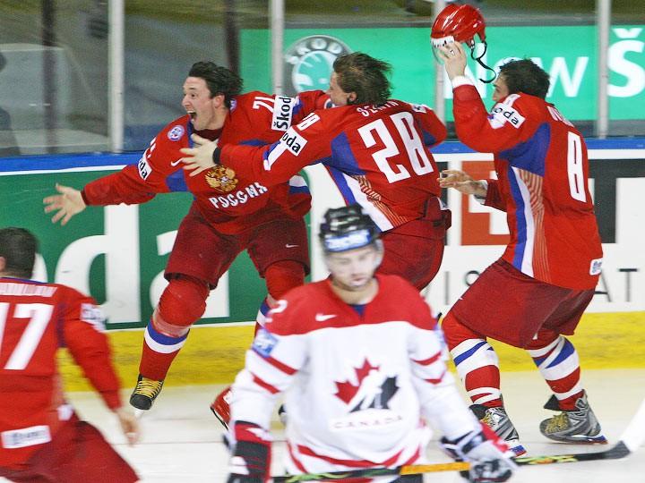 Первенцев чм по хоккею россия чехия история встреч связи