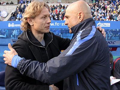 Валерий Карпин и Лучано Спаллетти