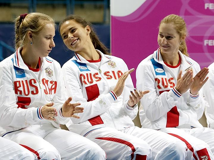 Женская сборная РФ начинает возвращение вМировую группу Кубка федерации