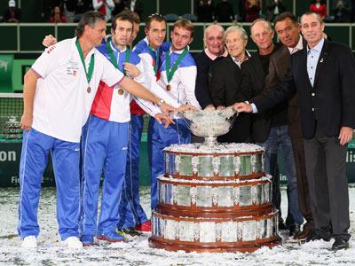 Сборная Чехии — победитель Кубка Дэвиса-2012