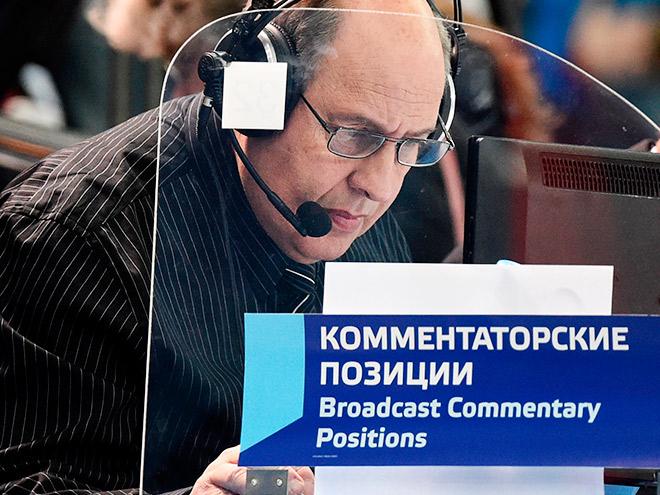 Кирилл Дементьев проводит смотр типажей футбольных комментаторов