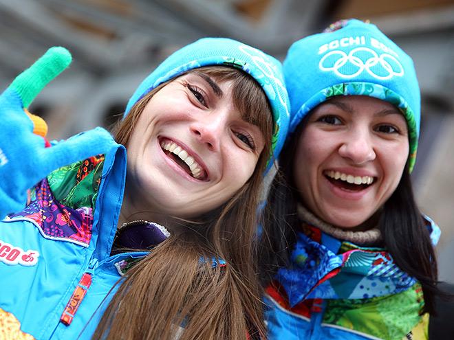 Волонтёры Олимпиады в Сочи