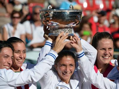 Италия — обладатель Кубка Федерации