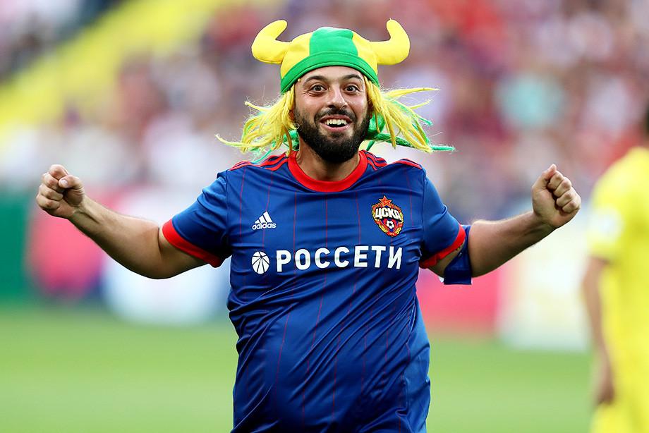 Тот самый бразилец остаётся в России. И он уже болеет за ЦСКА