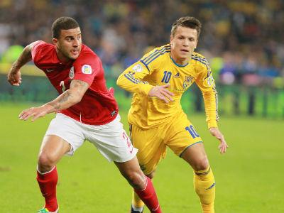 Игроки сборной Украины - о матче с Англией