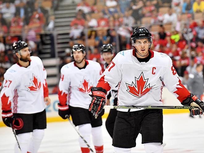 Россия — Канада в полуфинале Кубка мира — О'Райлли, Кросби, Таварес, Бэбкок