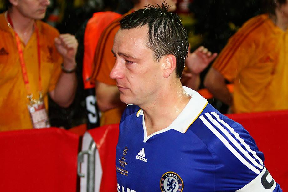 جان تری. 2008 لیگ قهرمانان اروپا نهایی