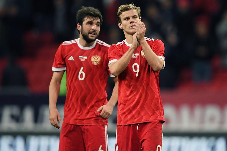 Георгий Джикия и Александр Кокорин