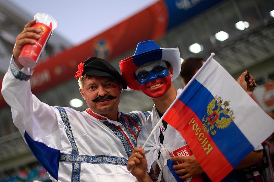 Как вам чемпионат России? С пивом вполне!