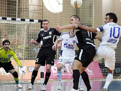 Итоги первого раунда плей-офф мини-футбольной Суперлиги