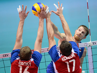 Россия обыграла Чехию в трёх партиях