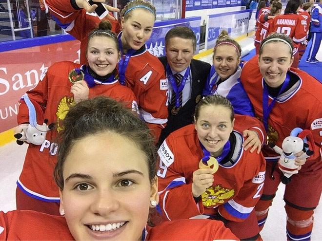 Людмила Белякова – первая россиянка в NWHL